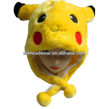 plush pikachu hat/winter hats animal ears