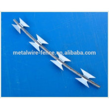 Hot-dipped galvanized & stainless steel concertina razor barbed wire