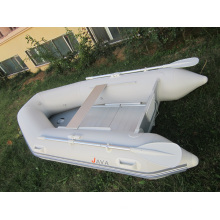 Small Inflatable Fishing Boat with Full Set Oars and Pump