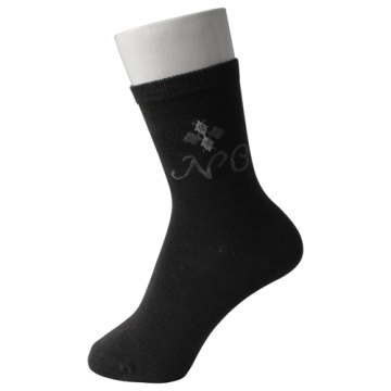 Black Men's Over Ankle Socks