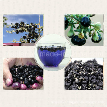 Medlar Ecocert Certificate Organic Black Goji Berry