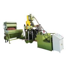 Hydraulische Brikettierpresse zum Recycling von Eisenabfällen