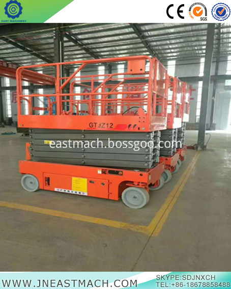 China Home Scissor Lift Self Propelled Scissor Platform