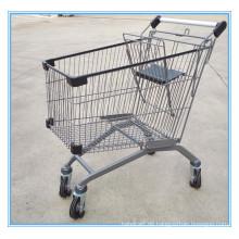 125L Supermarkt Einkaufswagen
