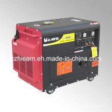 Grupo electrógeno diesel refrescado aire silencioso portátil 3kw (DG3500SE)
