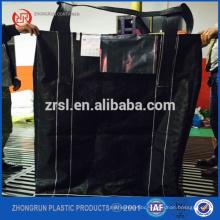 UV jumbo bag scrap/circular jumbo bag for coal packing - black pp jumbo bag for coal