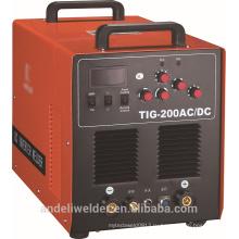 Профессиональный портативный Алюминиевый ММА 200р АС/DC TIG Сварочный аппарат