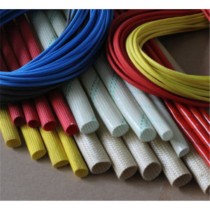 Fibreglass Coated Silicone Rubber Sleeving