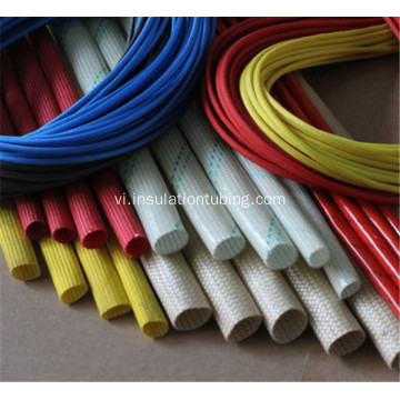Sợi thủy tinh tráng Silicone cao su Sleeving