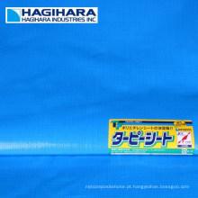Durable # 2000, # 2500, rolo de papel PE PE modelo # 3000 da Hagihara Industries. Feito no Japão (folha de plástico azul em rolo)