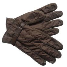 Herrenmode Nylon Taft gestrickte Ski warme Handschuhe (YKY5060)