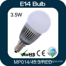Red Light 3W E14 LED Bulb