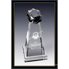 Concessão estelar cristal da torre 8 polegadas de altura (NU-CW790)
