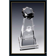 Награда Кристалл звездной башни 8 дюймов высотой (ню-CW790)