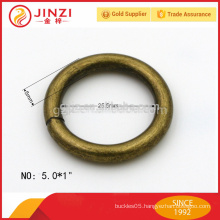 2015 hot new products antique brass style iron wire ring