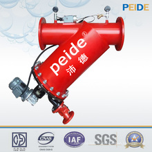 Système de recyclage d'eau de filtre d'eau de brosse de filtration élevée automatique