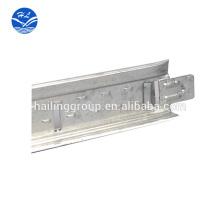 rejillas metálicas de techo suspendidoT Bar Suspended Celing Cuadrícula de celosía tipo