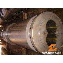 Twin conique vis Canon pour l'Extrusion de tubes (ZYT372)