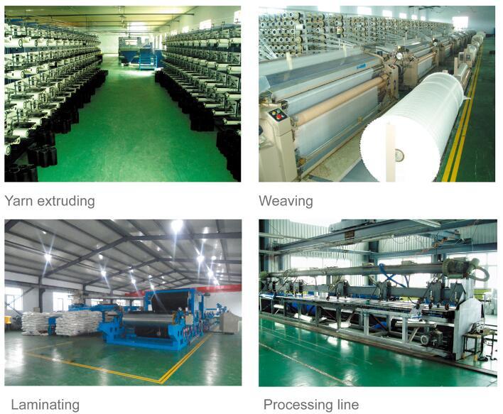Tarpaulin Production Process