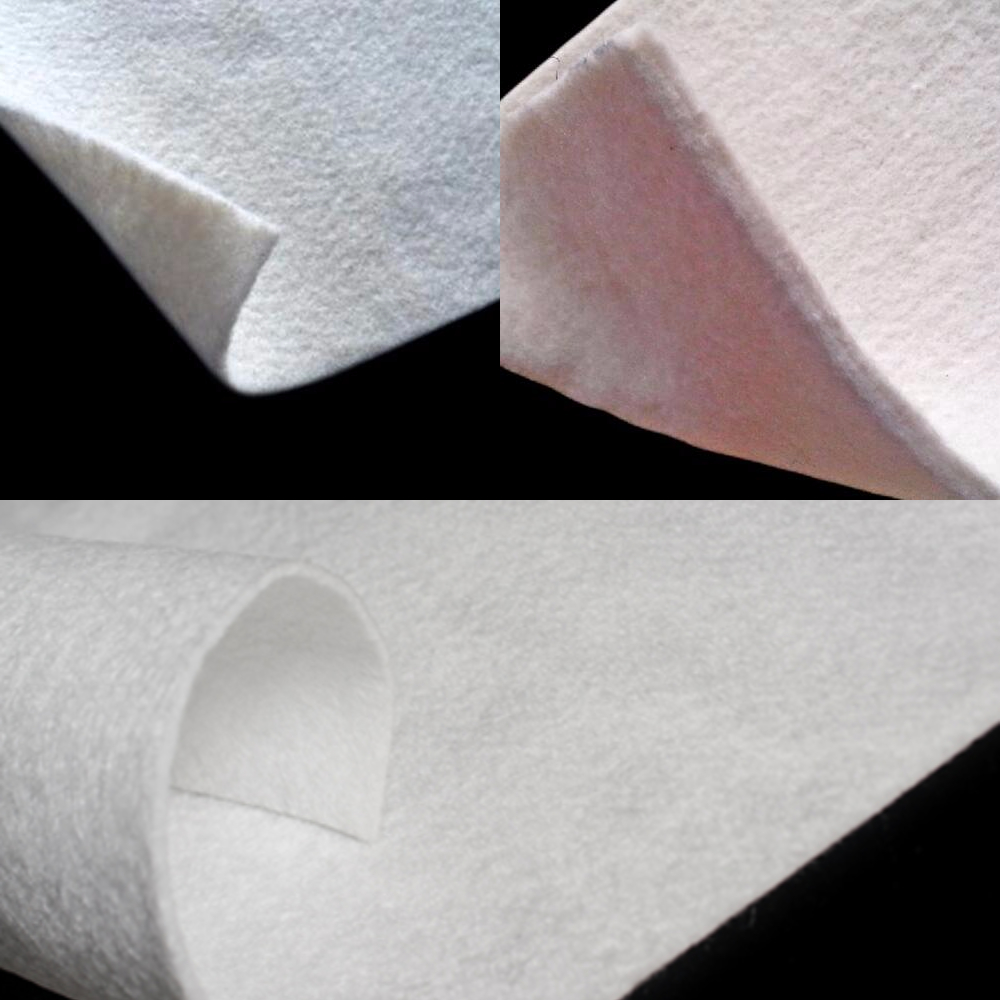 Needle punched heat bonded Non woven Geotextile