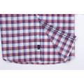 Men's Linen Yarn Dyed Long Sleeve Shirt