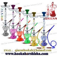 Alta qualidade vidro grande cachimbo de água quente venda Hookah Shisha moda Hookah