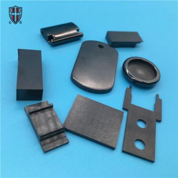 componentes cerâmicos de zircônia preta formando isostáticos