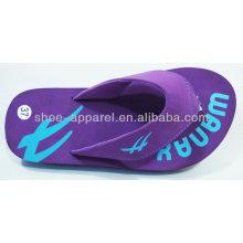 Zapatillas Eva violeta con cinta PU