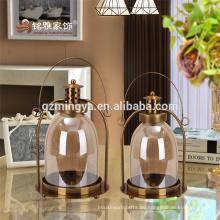 Decoración del hogar decoración de metal decorativos al por mayor ornamento de la casa de Navidad