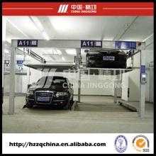 Sistema y elevador de estacionamiento automotriz al aire libre de Psh