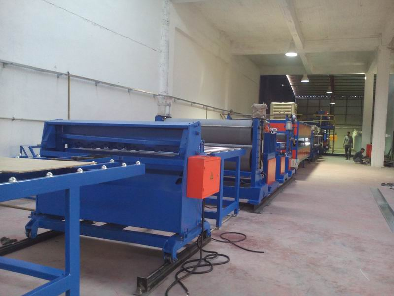 Metal Arkitektoniska Paneler Stripping Machine
