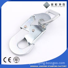 High quality good prices customize good strength safety climbing swivel bolt snap hook