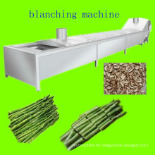 Asparagus blanching machine