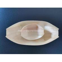 preço de fábrica bandeja de barco de madeira descartável