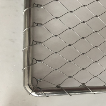 316 Inox Tali Fleksibel Stainless Steel Cable Mesh Netting