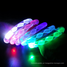 Centros de mesa de conto de casamento LED Light up Wristbands
