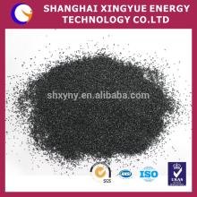 Alta dureza preço de partículas de carboneto de silício preto para jateamento e refratário