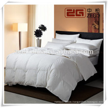 2014 New Arrival Luxury Factory Directly Sale Down proof fabric with Microfiber Quilt