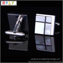 Gemelos de camisa de Metal diseño VAGULA (Hlk31456)