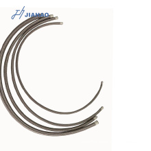 closed loop bho extractor ss braided ptfe hose with good quality fitting