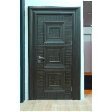 Portes intérieures moulurées plaquées en bois à prix abordable