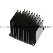 Black Aluminum Color Heatsink