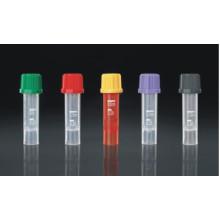 CE y FDA Certificado Tubo Micro Colección de sangre 0.5ml