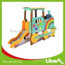 Plateau PE Planche à découper nouvellement conçue pour enfants avec glissière en acier inoxydable