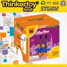 En 71 Пластиковые творческие DIY строительные блоки игрушки