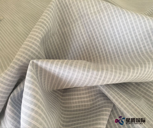 Bamboo Yarn Dyed Shirting Fabric