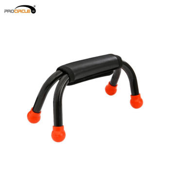 Home Exercise Equipment Leather Grip Push Up Bar