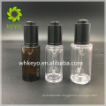 30ml amber thick wall PETG dropper bottle with press pump and pipette