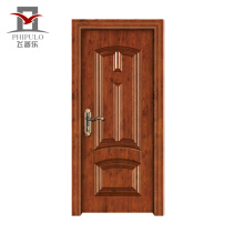 Fábrica que faz a porta moderna de madeira de aço Eco-Amigável da parte alta