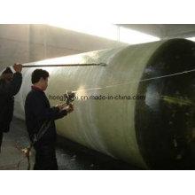 Распыляя оборудованием для изготовления стеклопластиковых изделий